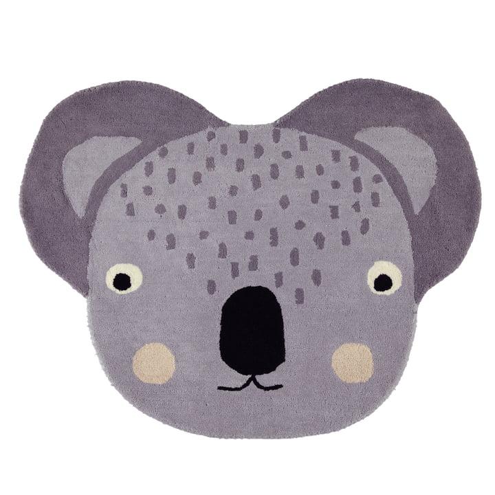 Children's carpet 100 x 85 cm Koala by OYOY