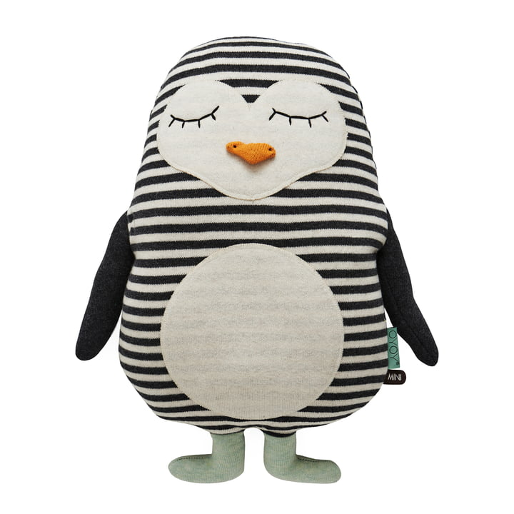 Knitted cuddly toy Penguin Pingo by OYOY