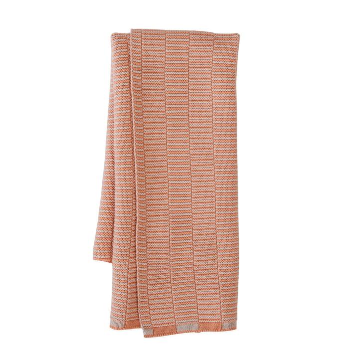 Stringa tea towel, 38 x 58 cm in shell / coral by OYOY