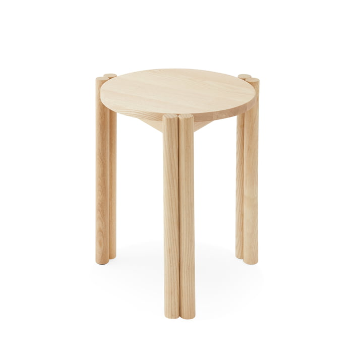 Pieni stool by OYOY in ash wood