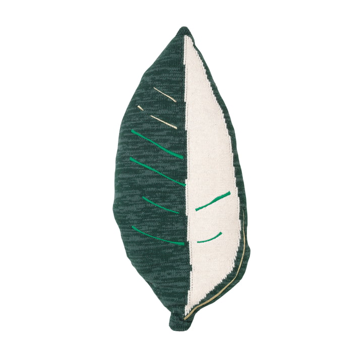 Fruiticana cushion banana leaf, white / green by ferm Living