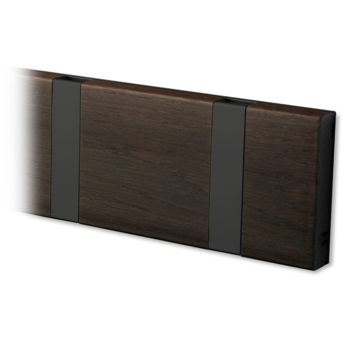 Knax coat rack from LoCa in oak tabac oiled / black