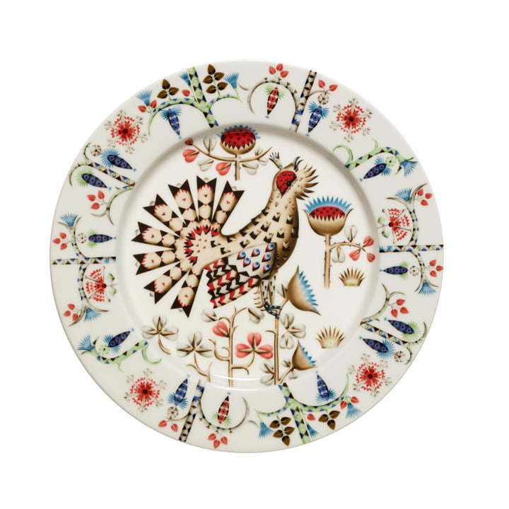 Taika Siimes plate flat Ø 22 cm, multicoloured from Iittala