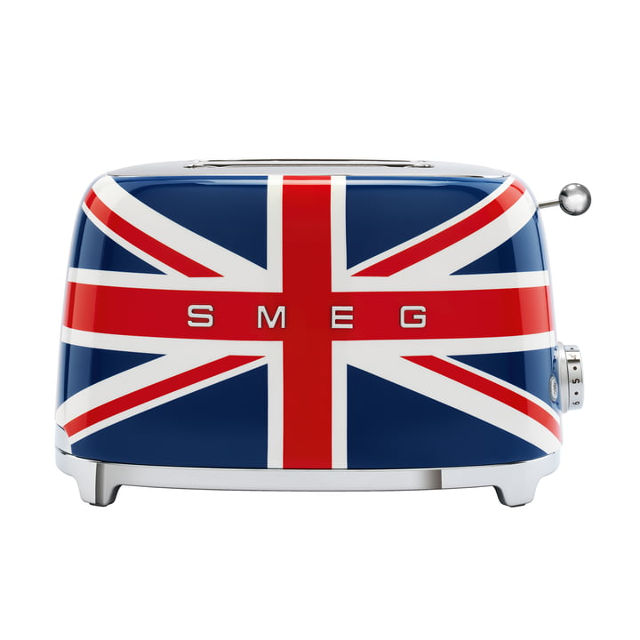 2-Slices Toaster TSF01 from Smeg in union jack