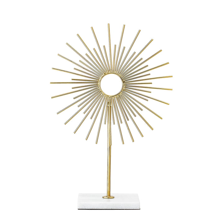 Decoration object of Bloomingville in marble / gold