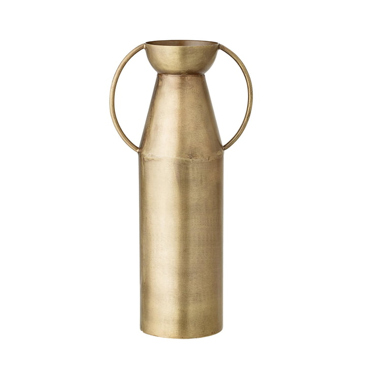 Vase with handles H 24 cm from Bloomingville in brass