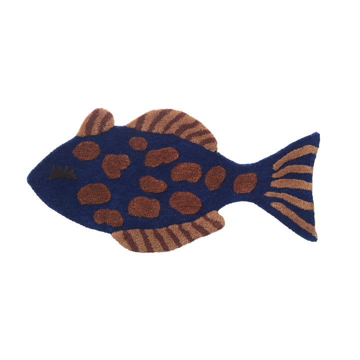"""Children's room / tapestry """"Fish"""" by ferm Living in multi"""