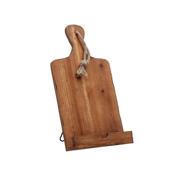 Cookbook holder from Bloomingville made of acacia tree wood