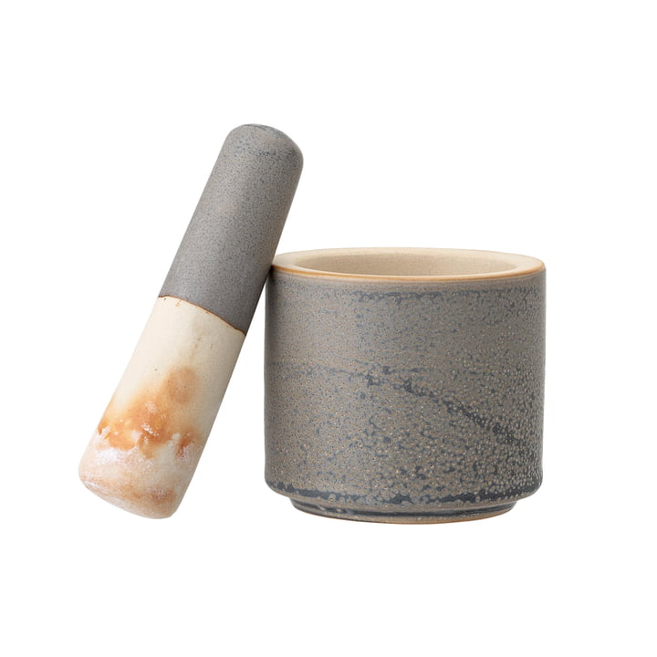 Kendra mortar & pestle from Bloomingville