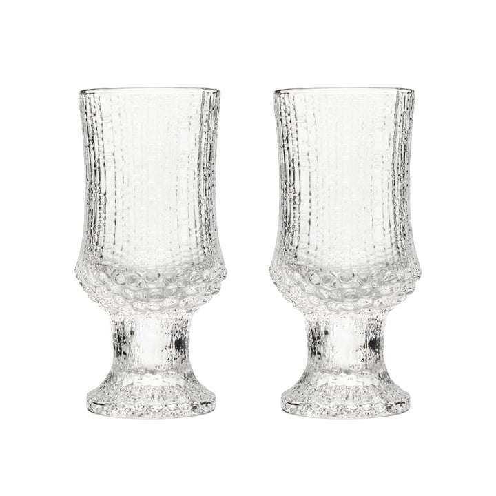 Ultima Thule white wine glass with foot 16 cl (set of 2) by Iittala