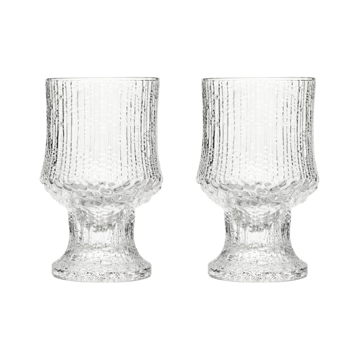 Ultima Thule red wine glass with foot 23 cl (set of 2) by Iittala