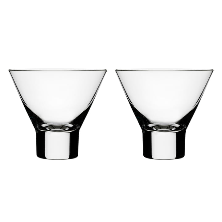 Aarne cocktail glass 14 cl (set of 2) from Iittala
