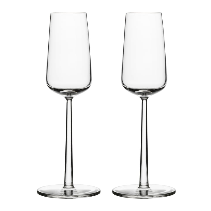Essence champagne glass 21 cl (set of 2) from Iittala
