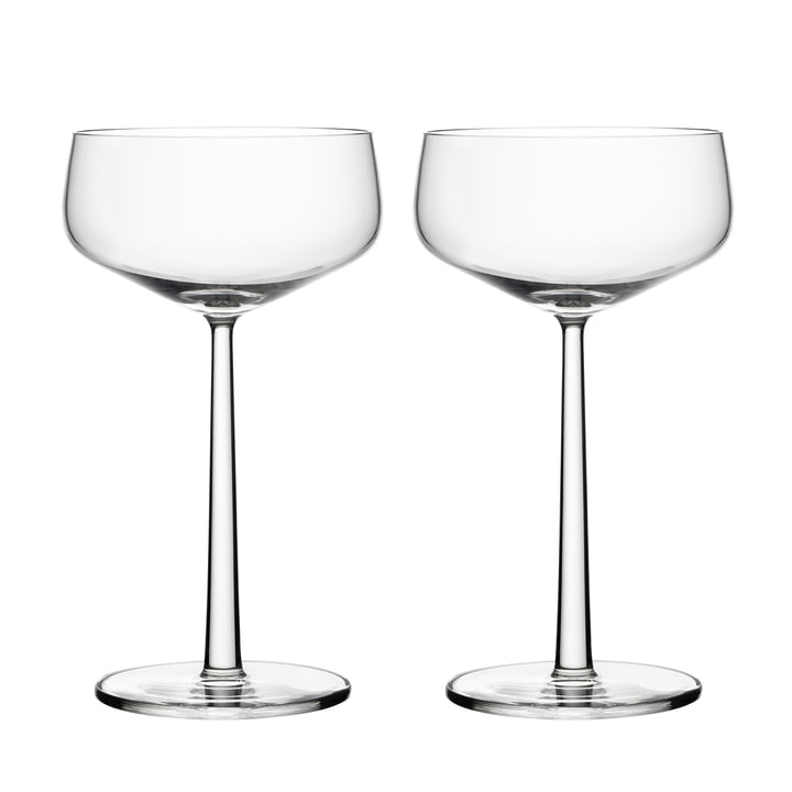 Essence champagne glass 31 cl (set of 2) from Iittala