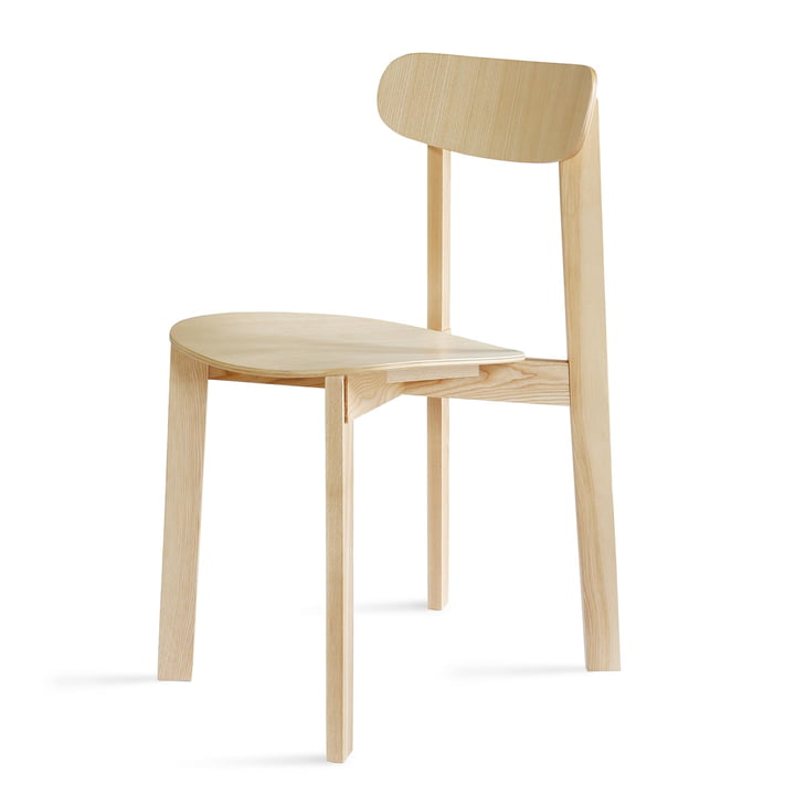 Bondi Chair in ash matt lacquered by Please wait to be seated