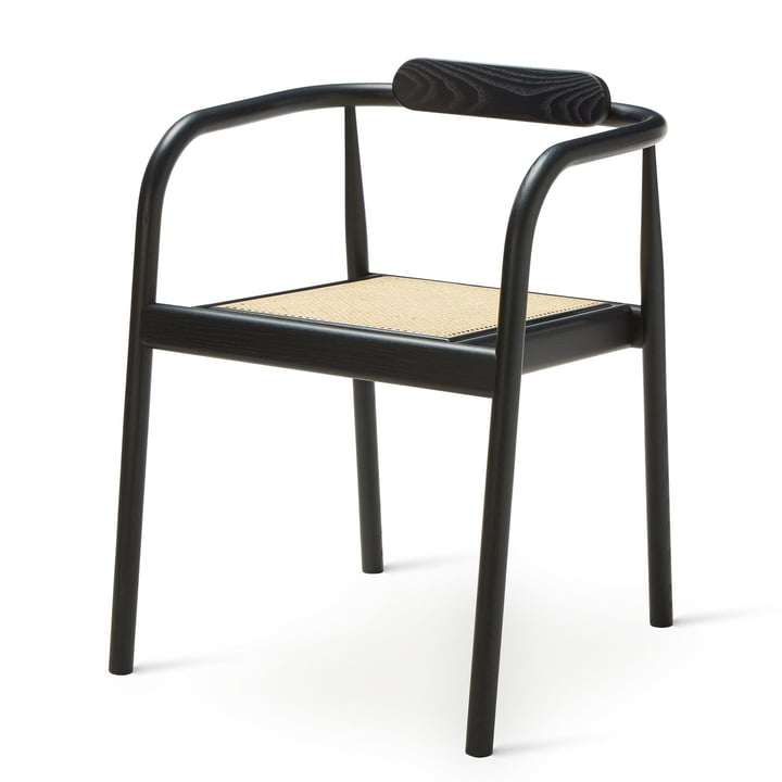 Ahm Chair in navy blue / Tube mesh from Please wait to be seated