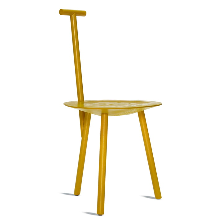 Spade Chair in turmeric yellow by Please wait to be seated