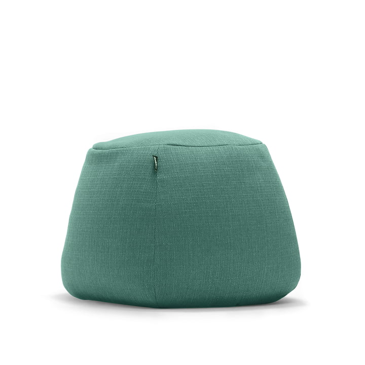 173 Pouf Ø 55 cm from freestyle in pastel turquoise (1031)