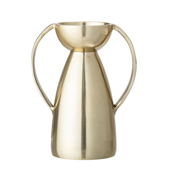 Tea Light Holder Ø 6,5 x H 13 cm from Bloomingville in gold