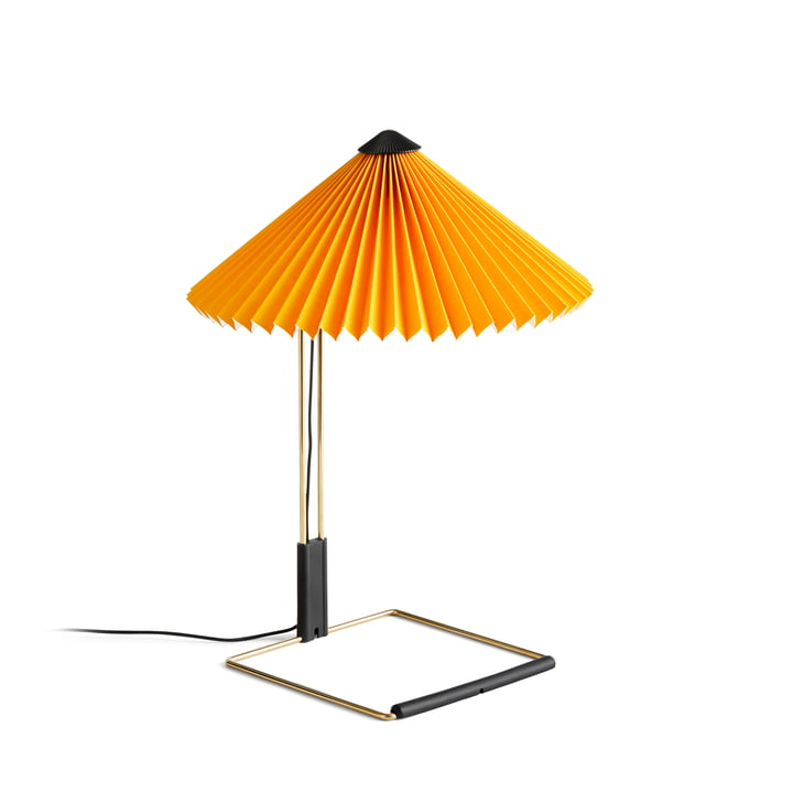 Matin LED table lamp S, yellow by Hay