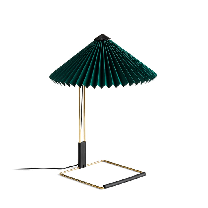 Matin LED table lamp S, green by Hay