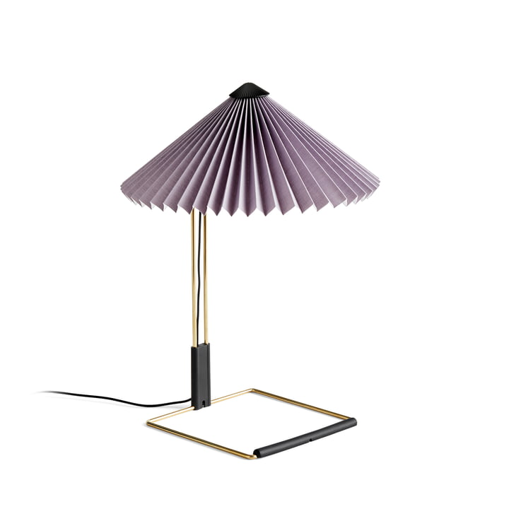 Matin LED table lamp S, lavender by Hay