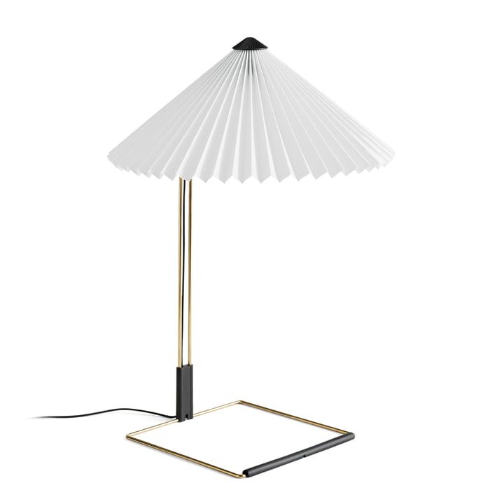 Matin LED table lamp L, white by Hay