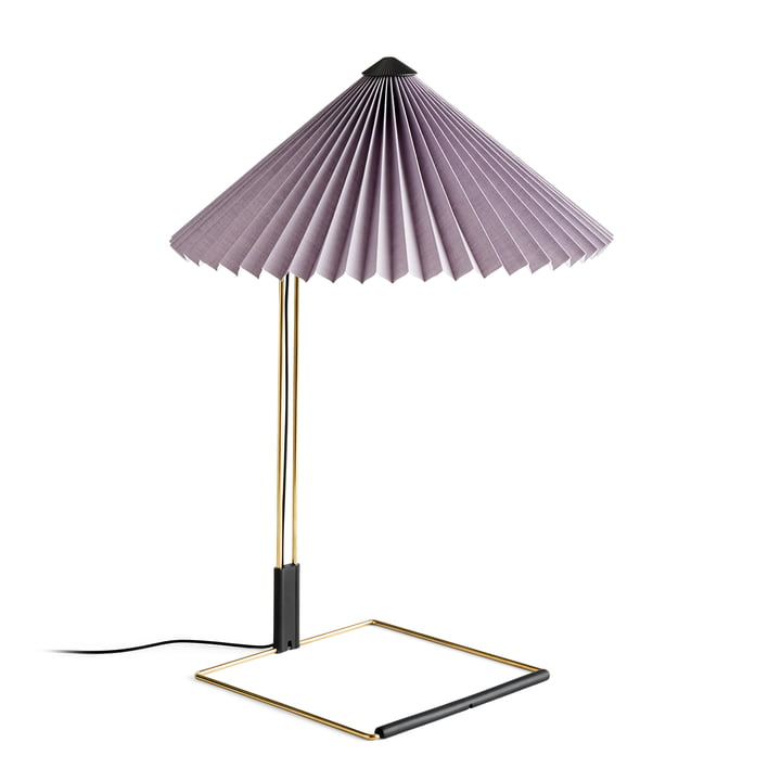 Matin LED table lamp L, lavender by Hay