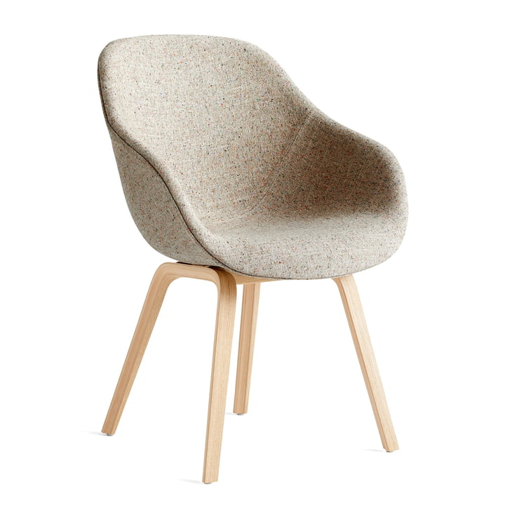 About A Chair AAC 123, matt lacquered oak / Bolgheri LGG60 by Hay