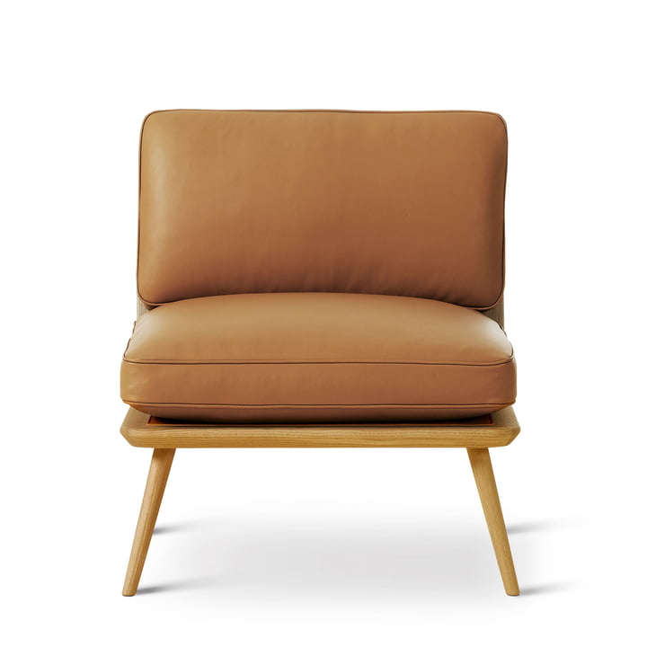 Spine Lounge Suite Chair Petit by Fredericia in oak clear lacquered