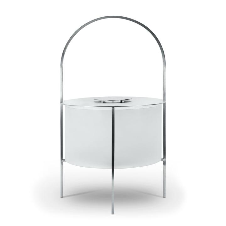Garden lantern in stainless steel / matt white by Röshults