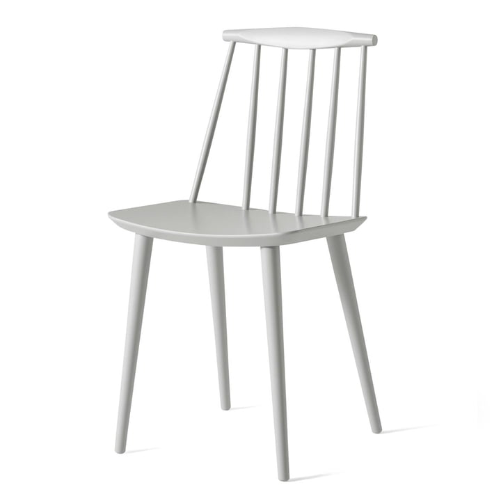J77 Chair from Hay in dusty grey