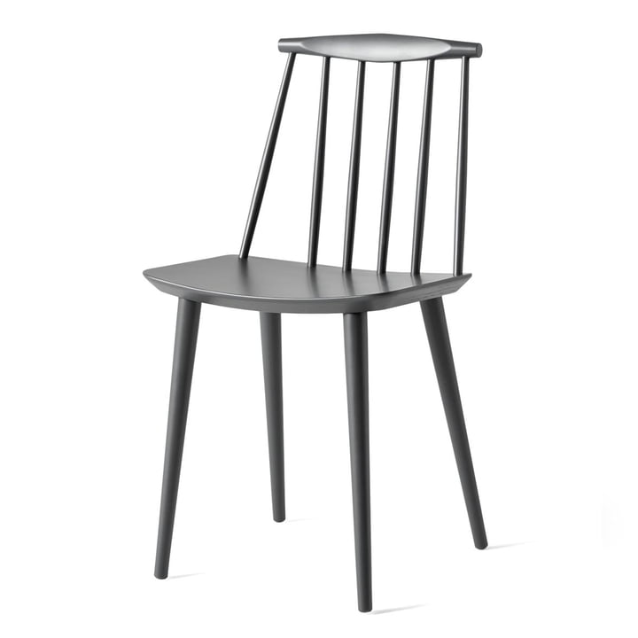 J77 Chair by Hay in stone grey