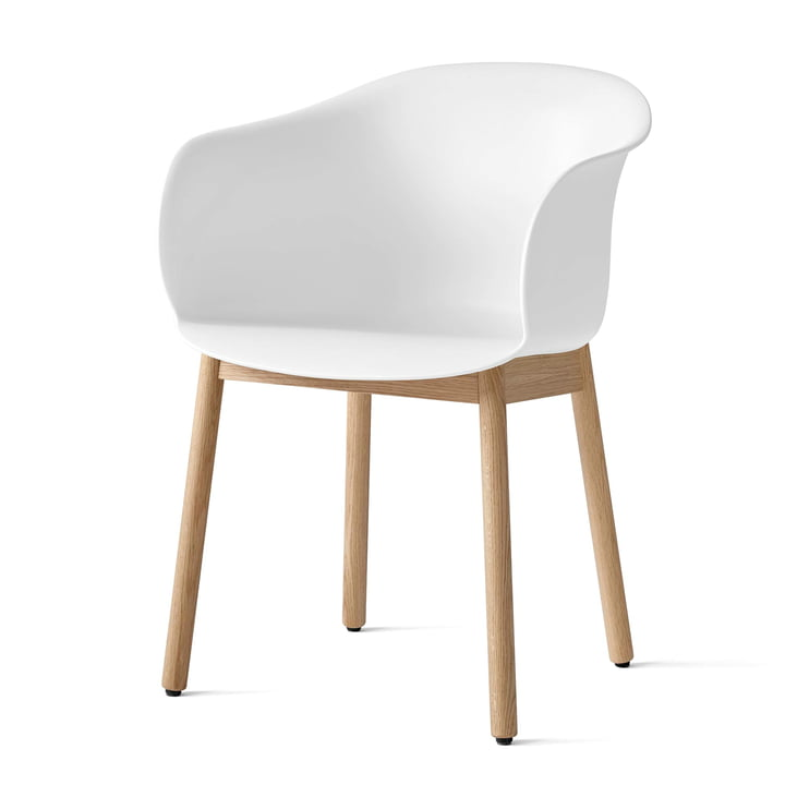 Elefy chair JH30 in oak / white by & tradition