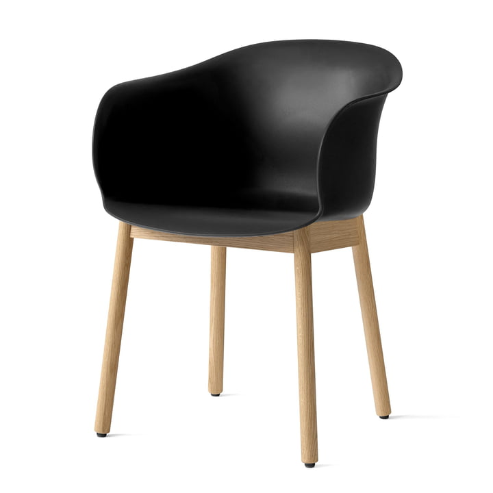 Elefy chair JH30 in oak / black from & tradition