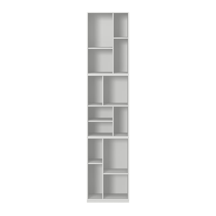Loom bookshelf with pedestal from Montana in new white