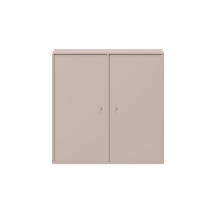 Cover cabinet with suspension by Montana in mushroom