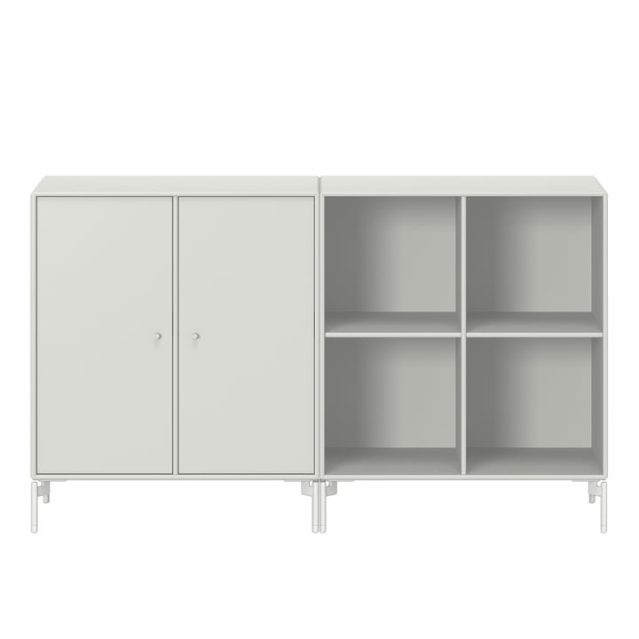 Pair sideboard with legs from Montana in nordic