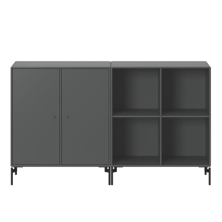 Pair sideboard with legs from Montana in anthracite