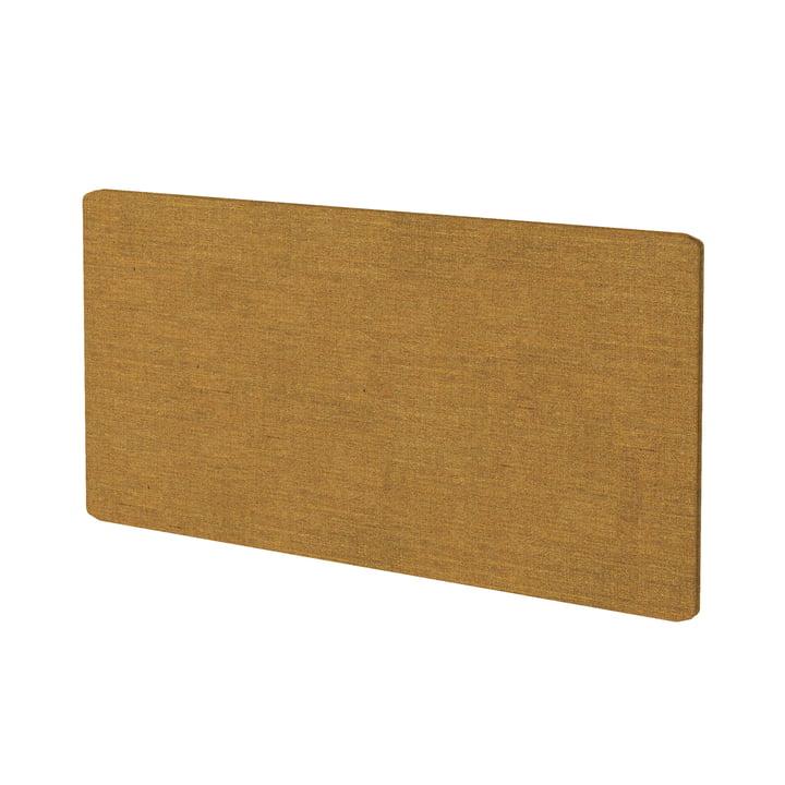 Textile panel for Montana Free shelving system in Kvadrat Remix 2 (433 mustard)