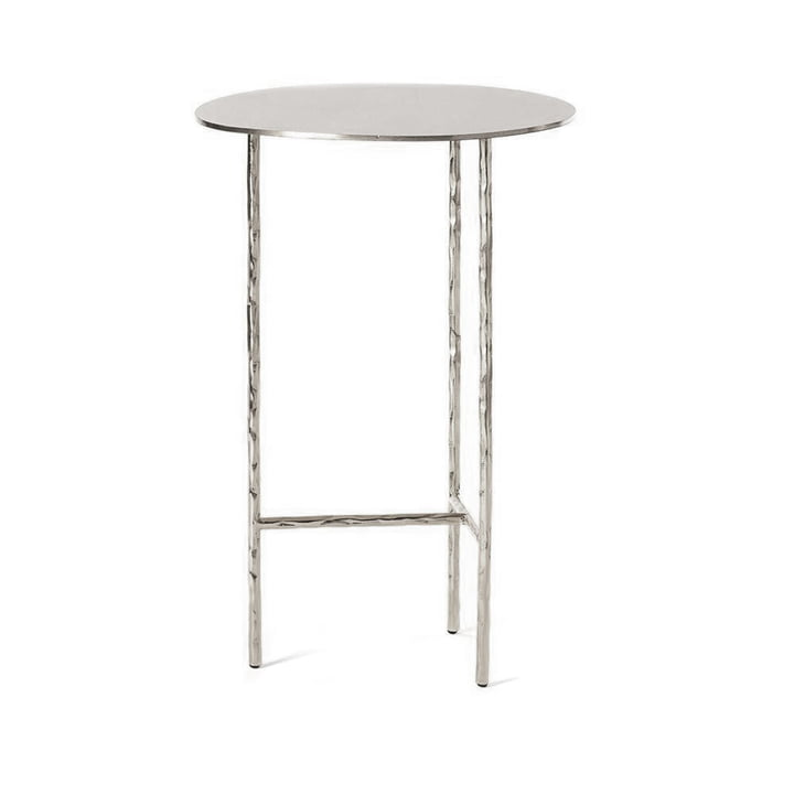 XXX Side table Ø 33 cm from Opinion Ciatti in Nickel
