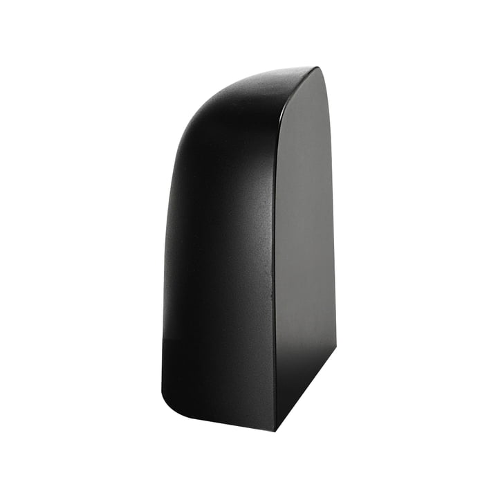 Bookend for Gaku Akku-Light from Flos in black