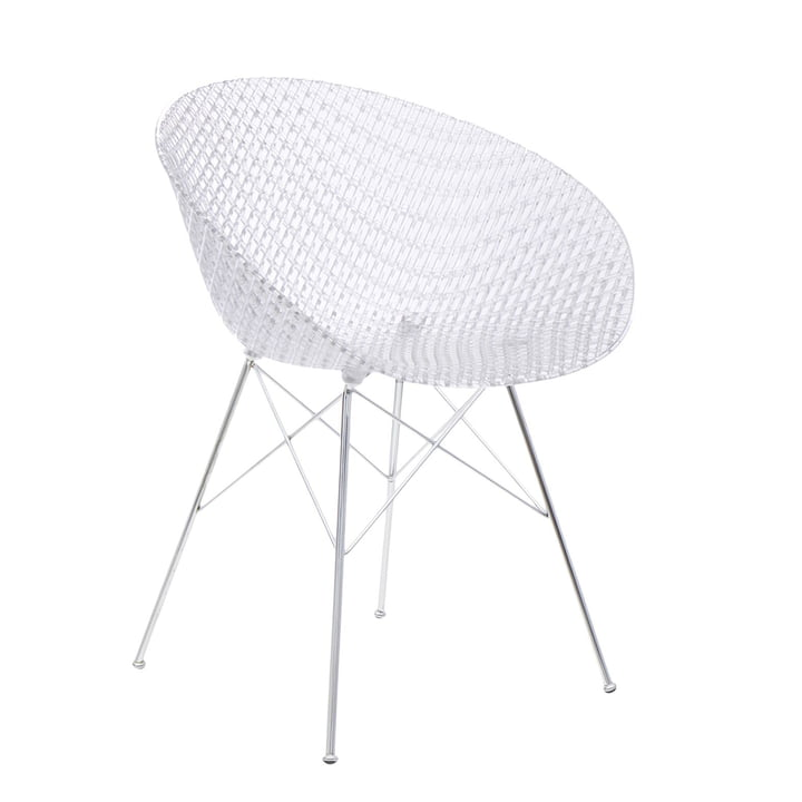 Smatrik chair in chrome / crystal by Kartell