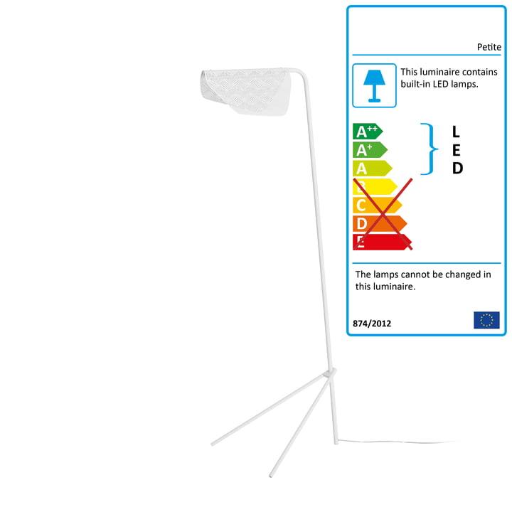 Mediterranea LED floor lamp by Petite Friture in white