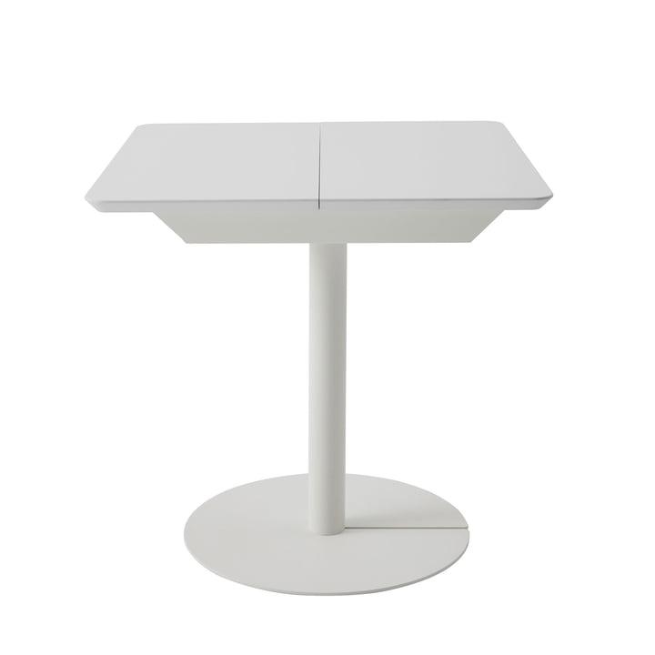 Duotable desk from Müller Möbelwerkstätten in pure white (RAL 9010)