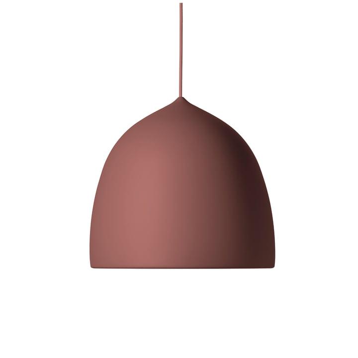 Suspence pendant lamp P 1. 5 by Fritz Hansen in powder burgundy