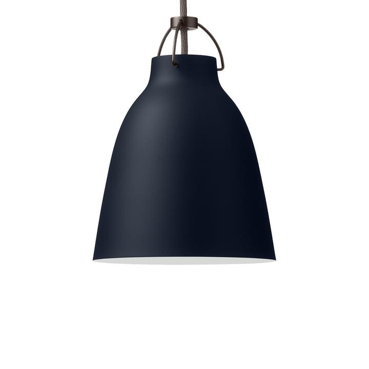 Caravaggio P1 pendant lamp by Fritz Hansen in matt dark ultramarine