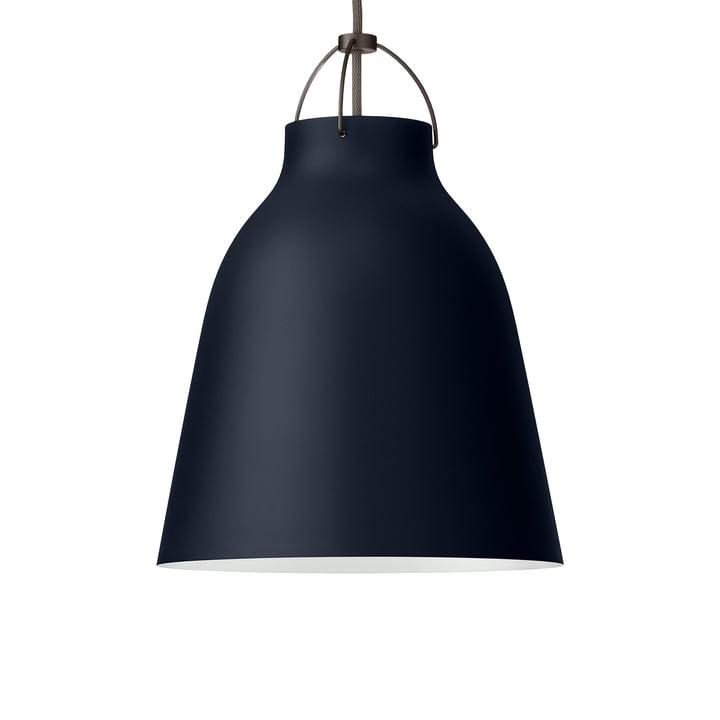 Caravaggio P2 pendant lamp from Fritz Hansen in matt dark ultramarine
