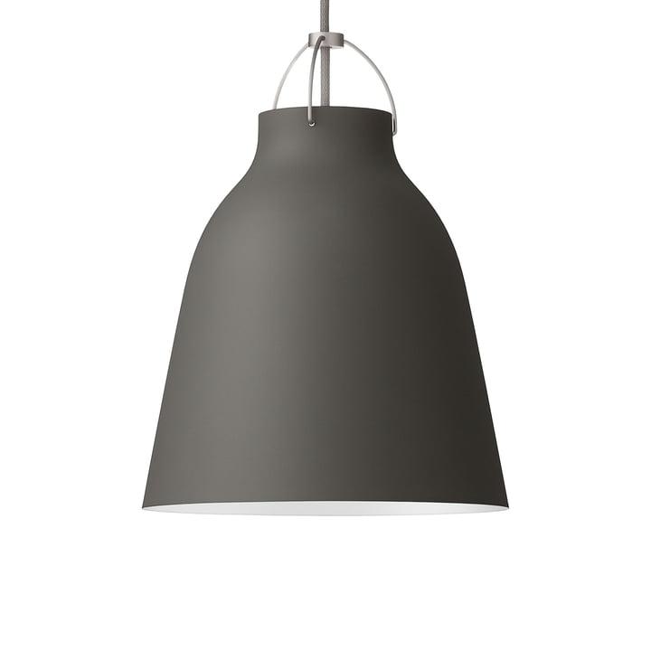 Caravaggio P2 pendant lamp by Fritz Hansen in matt archipelago stone