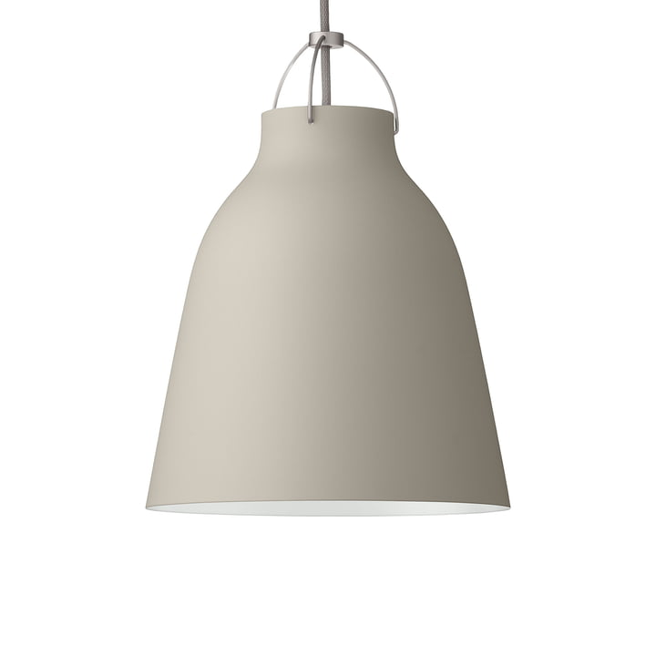 Caravaggio P2 pendant lamp by Fritz Hansen in matt warm silk